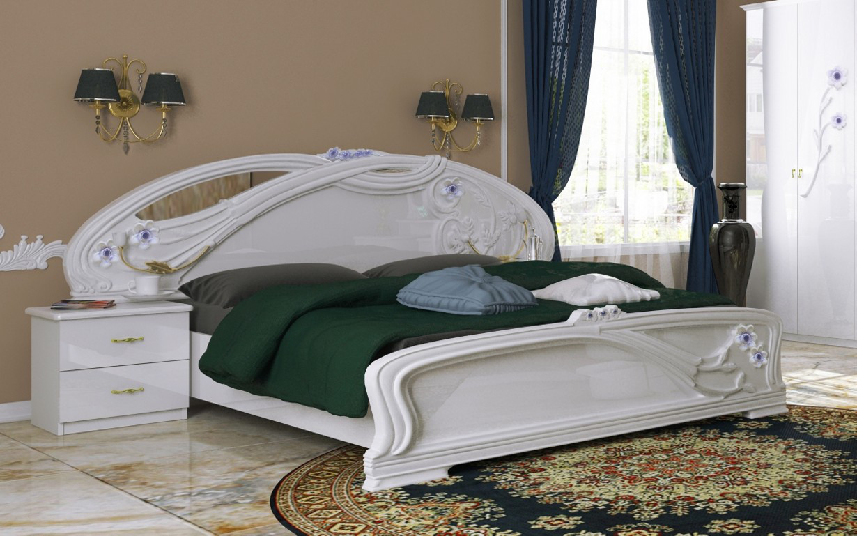 Кровать Лулу 180х200 см. МироМарк