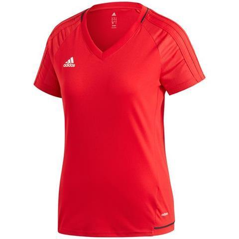 Футболка женская adidas TIRO Training 17 JSY Women красная BP8560 2XS/S/XL