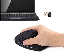 Ергономічна безпровідна оптична вертикальна миша Protech 2.4 Vertical Wireless
