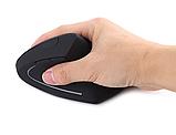 Ергономічна безпровідна оптична вертикальна миша Protech 2.4 Vertical Wireless, фото 4