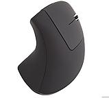 Ергономічна безпровідна оптична вертикальна миша Protech 2.4 Vertical Wireless, фото 3