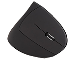 Беспроводная оптическая эргономичная вертикальная мышь Protech 2.4 Vertical Wireless, фото 2