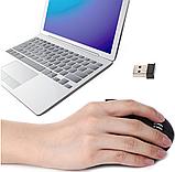 Ергономічна безпровідна оптична вертикальна миша Protech 2.4 Vertical Wireless, фото 7