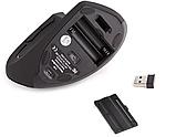 Ергономічна безпровідна оптична вертикальна миша Protech 2.4 Vertical Wireless, фото 8