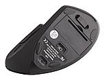 Беспроводная оптическая эргономичная вертикальная мышь Protech 2.4 Vertical Wireless, фото 6