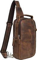 Сумка мужская Vintage 14519 Коричневая, Коричневый, фото 1