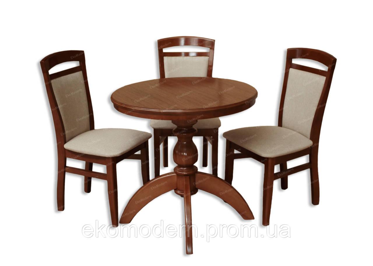 Обеденный комплект с круглым столом ВАШИНГТОН +