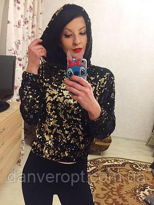 Свитшот женский молодежный размер S-XL купить оптом со склада 7км Одесса b644f532328