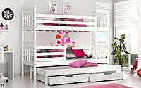 Двухъярусная кровать Джоси 80х190 см. Мистер Мебл