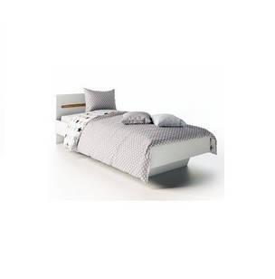 Ліжко з ДСП/МДФ в спальню 1-сп (б/матрасу та каркаса) Б'янко Світ Меблів