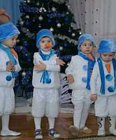 Карнавальный костюм Снеговик для ребенка, костюм Снеговика