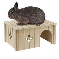 Ferplast SIN 4646 Деревянный домик для мелких животных