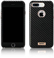 Чехол-накладка Remax Carbon Series Case for iPhone 7 Plus Black