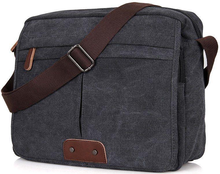 Сумка мужская Vintage 14585 Серая, Серый