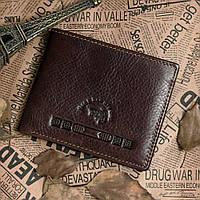 Кошелек Vintage 14116 Коричневый, Коричневый