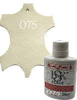 Краска для кожи bsk-color 25ml топленое молоко , цв.№75