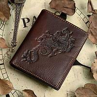 Кошелек мужской Vintage 14171 Коричневый, Коричневый