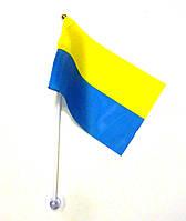 Флажок Украины на пластиковой палочке