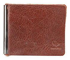 Зажим для денег GRANDE PELLE 00226 Коричневый, Коричневый