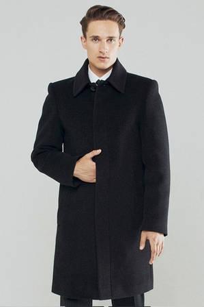Мужское зимнее пальто кашемировое