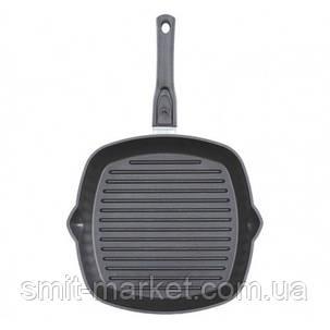 Сковорода-гриль с антипригарным покрытием Биол и съемной ручкой 26см (2614П), фото 2