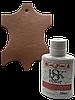 Фарба для шкіри bsk-color 25ml колір коричнево-рудий №077, фото 2