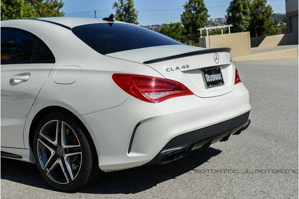 Спойлер (под покраску) - Mercedes CLA 2013+ гг.