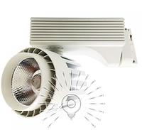 Светодиодный трековый светильник 20Вт 6500K LM562-20, фото 1