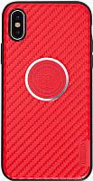 Чехол-накладка Remax Breathe Series Case Apple iPhone X Red, фото 1