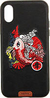Чехол-накладка Remax Stitch Series Case Apple iPhone X Koi Fish, фото 1