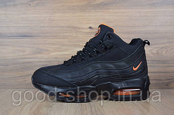 "Женские зимние кроссовки Nike Air Max 95 Sneakerboot ""Black"" (люкс копия)"