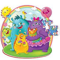 Детские мягкие пазлы Roter Kafer Foam Монстры RK1202-05