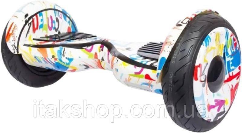 """Гироборд Smart Balance Wheel U8 10"""" Hip-Hop White"""