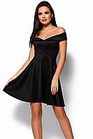 (S / 42-44) Неповторне чорне коктейльне плаття Aila