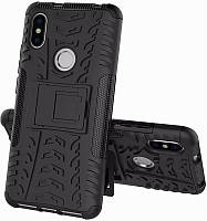 Чехол-накладка TOTO Dazzle kickstand 2 in 1 phone case Xiaomi Redmi S2 Black