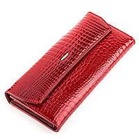 Кошелек женский BALISA 13862 кожаный Красный, Красный, фото 1