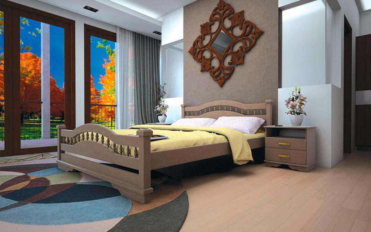 Кровать Атлант 7 90х190 см. Тис