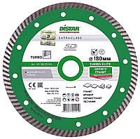 Круг алмазный Distar Turbo Elite 180 мм отрезной диск по граниту и базальту для УШМ, Дистар, Украина