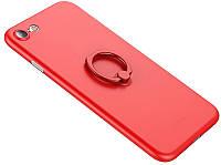 Чехол-накладка Rock PP Ring Holder PP Protection Case Apple iPhone 7 Red
