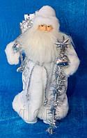 Дед Мороз в белой шубе, 40 см, арт. 600038