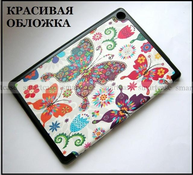купить Чехол книжка бабочки Huawei M5 lite 10