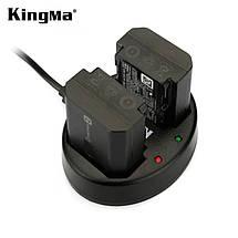 Подвійне зарядний USB-пристрій KingMa для акумуляторів Sony NP-FZ100, фото 2