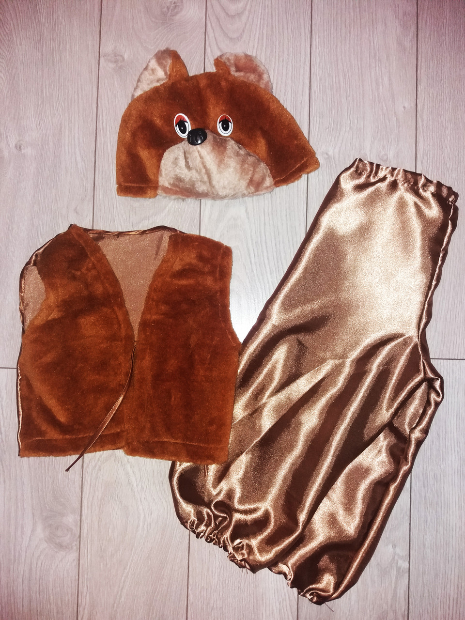 Детский карнавальный-новогодний костюм МЕДВЕДЬ
