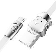 Кабель Rock Chinese Zodiac  Micro cable 1M Goat-White