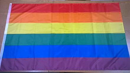 Флаг ЛГБТ - (Печать) - (0.9м*1.5м), фото 2