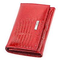 Кошелек женский KARYA 17169 кожаный Красный, Красный, фото 1