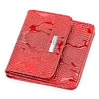 Кошелек компактный KARYA 17172 кожаный Красный, Красный, фото 1