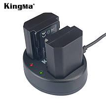 Подвійне зарядний USB-пристрій KingMa для акумуляторів Sony NP-FZ100, фото 3