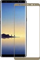 Защитное стекло Mocolo 3D Full Cover Tempered Glass Samsung Galaxy Note 8 (full glue) Gold