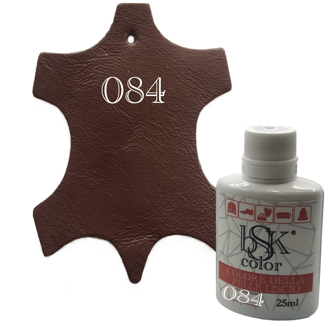 Краска для кожи bsk-color 25ml  , цв.№084